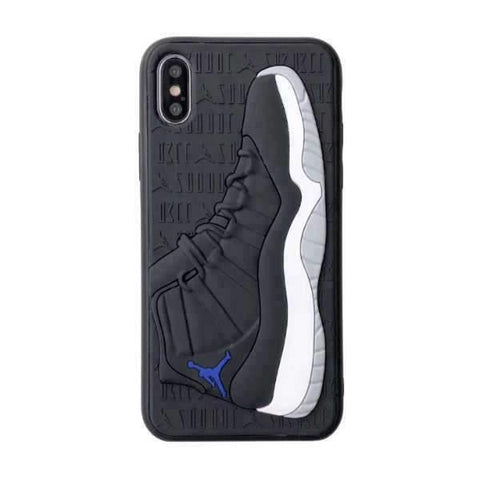 iPhone Cases Cool 3D Basketball Star-Black blue
