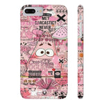 iPhone Cases Cool Cartoon Tattoo-iPhone 7 Plus, iPhone 8 Plus