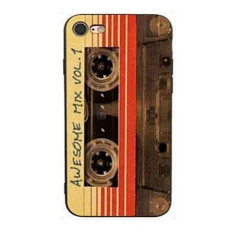 iPhone Cases Cool Cassette Tape-Star-Lord