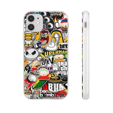 iPhone Cases Cool Funny Cartoons-iPhone 11