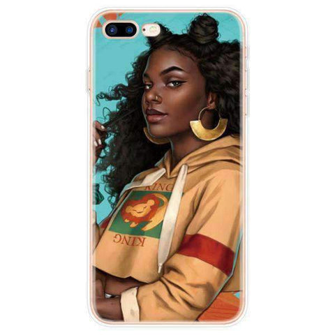 iPhone Cases Cool Melanin Poppin-Amany