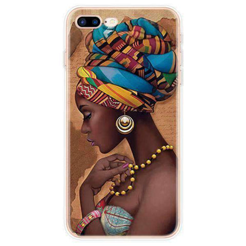iPhone Cases Cool Melanin Poppin-Dina