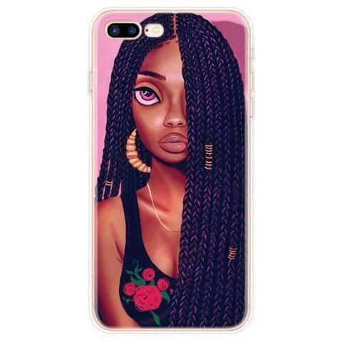 iPhone Cases Cool Melanin Poppin-Inaya