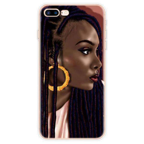 iPhone Cases Cool Melanin Poppin-Isis
