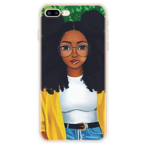 iPhone Cases Cool Melanin Poppin-Mariam