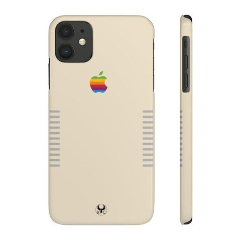 iPhone Cases Cool Retro Apple 80's-iPhone 11
