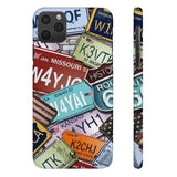 iPhone Cases Cool Usa License Plates-iPhone 11 Pro Max
