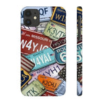 iPhone Cases Cool Usa License Plates-iPhone 11