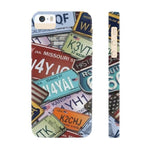 iPhone Cases Cool Usa License Plates-iPhone 5 & 5s & 5se