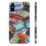 iPhone Cases Cool Usa License Plates-iPhone X