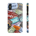 iPhone Cases Cool Usa License Plates-iPhone Xs