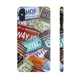 iPhone Cases Cool Usa License Plates-iPhone Xs Max