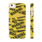 iPhone Cases Cool Warning Banner-iPhone 5 & 5s & 5se