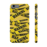 iPhone Cases Cool Warning Banner-iPhone 6 & 6s