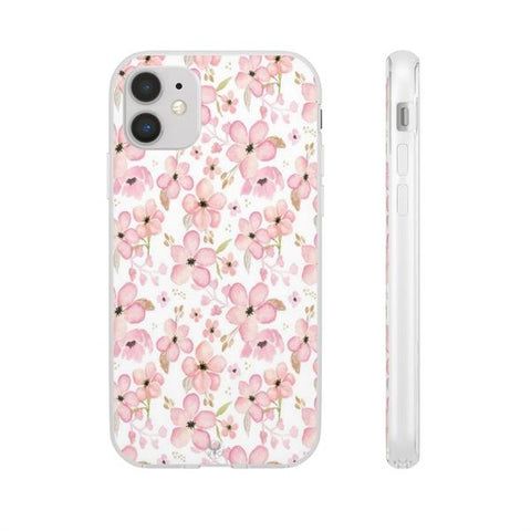 iPhone Cases Flowers Cute Pink Blossom-iPhone 11