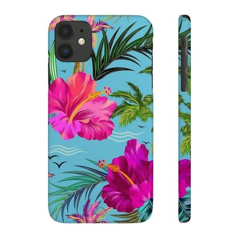 iPhone Cases Flowers Exotic Flowers-iPhone 11