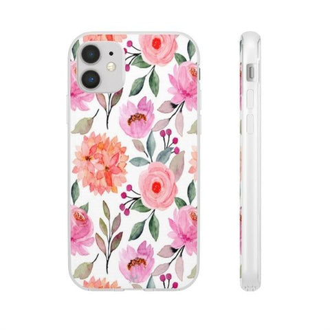 iPhone Cases Flowers Pink Floral-iPhone 11