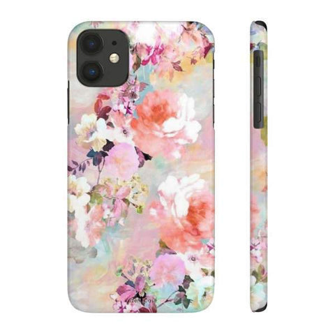 iPhone Cases Flowers Roses Painting-iPhone 11
