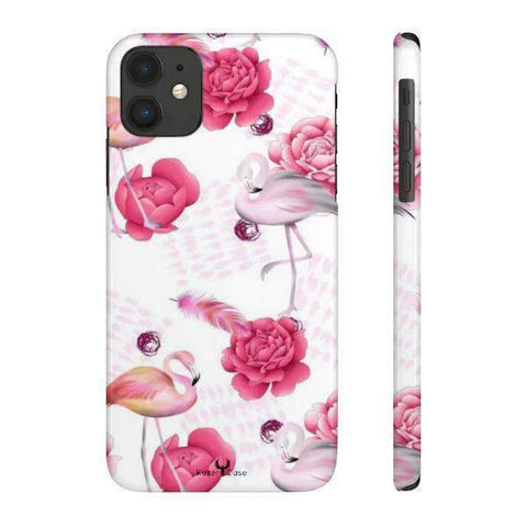 iPhone Cases Flowers Roses & Swan-iPhone 11