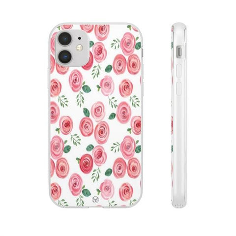 iPhone Cases Flowers Watercolor Flowers-iPhone 11