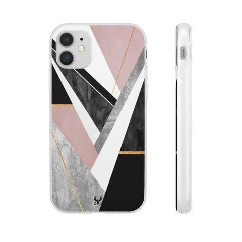 iPhone Cases Luxury Abstract Lines-iPhone 11