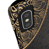 iPhone Cases Luxury Mandala Gold-