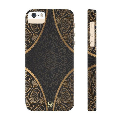 iPhone Cases Luxury Mandala Gold-iPhone 5 & 5s & 5se
