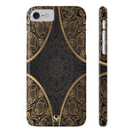 iPhone Cases Luxury Mandala Gold-iPhone 7, iPhone 8
