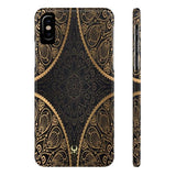 iPhone Cases Luxury Mandala Gold-iPhone X