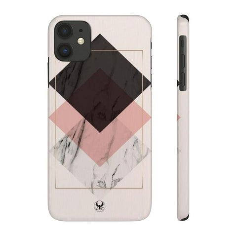 iPhone Cases Luxury Rhombus Color-iPhone 11
