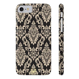 iPhone Casess Luxury Gold Blazon-iPhone 7, iPhone 8