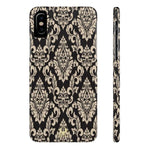 iPhone Casess Luxury Gold Blazon-iPhone X