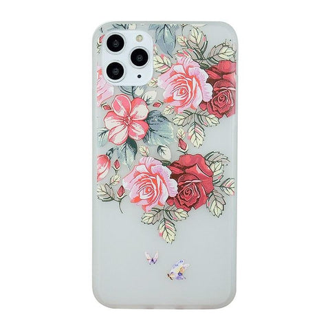 Flower iPhone Case <br> Bee Love Floral iPhone Case