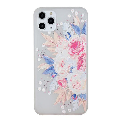 Flower iPhone Case <br> Peony Floral iPhone Case