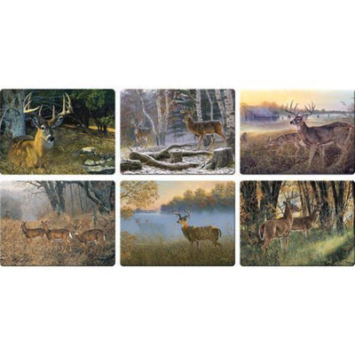 Deer Scene Cutting Boards Assorted Priced Each