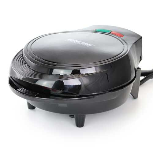 Better Chef Electric Double Omelet Maker - Black