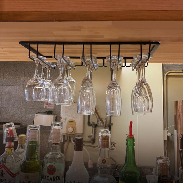 Wall Mount Wine Glass Hanging Stemware