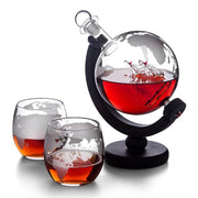 Aerator Glass Bottle Globe Decanter