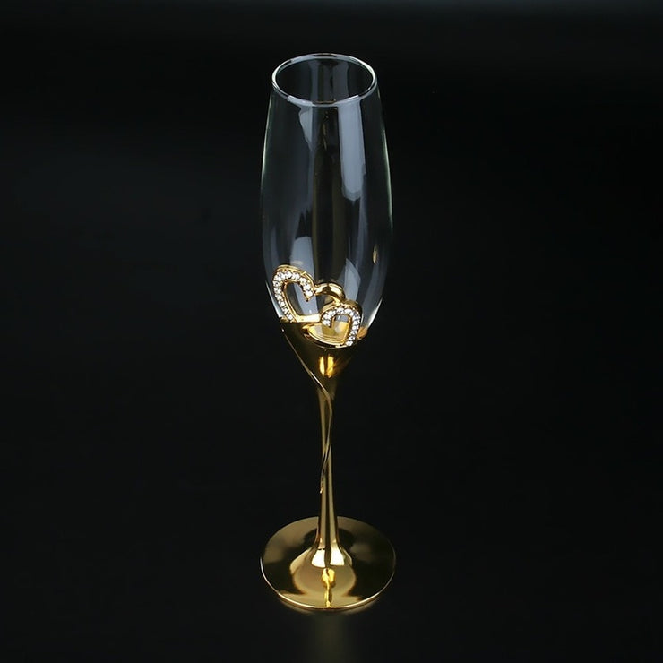 Crystal Party Wine Glasses