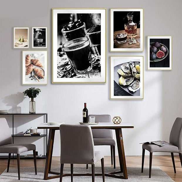 Drink Food Canvas Wall Art