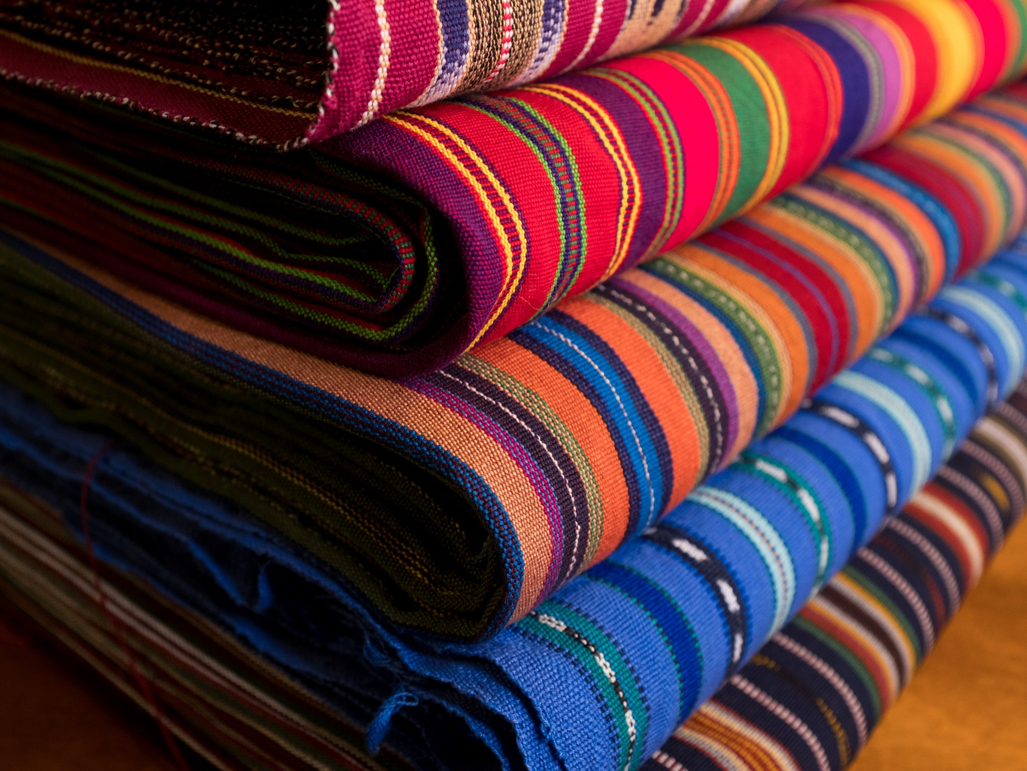Handwoven textiles from Guatemala