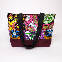 Load image into Gallery viewer, African Print Tote Bag