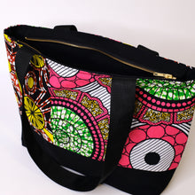 Load image into Gallery viewer, African Print Tote Bag (Coming Back Soon!)
