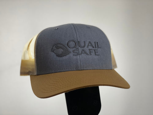 Quail Safe Two-Tone Mesh Back