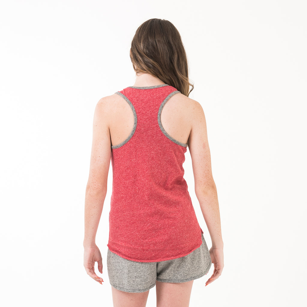Womens Racerback Tank True Red