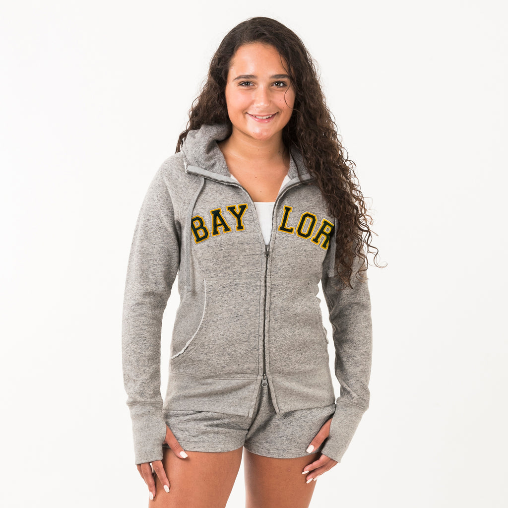 Baylor Womens Girlfriend Hoodie Grey