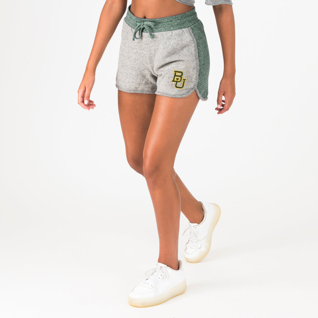 Baylor Womens Dolphin Shorts Hunter Green