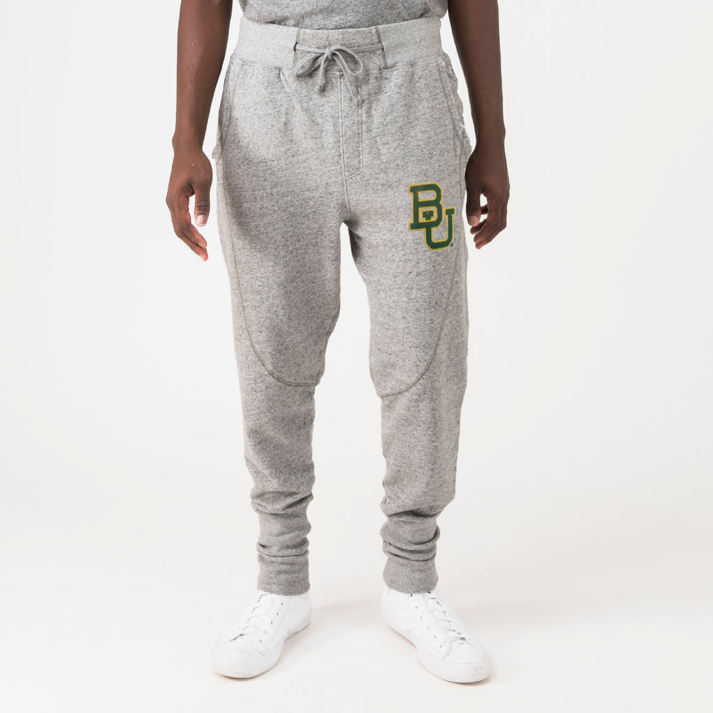 Baylor Mens Ultimate Soft Sweatpants Grey