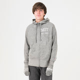 MIT Unisex Hoodie With Hands Grey