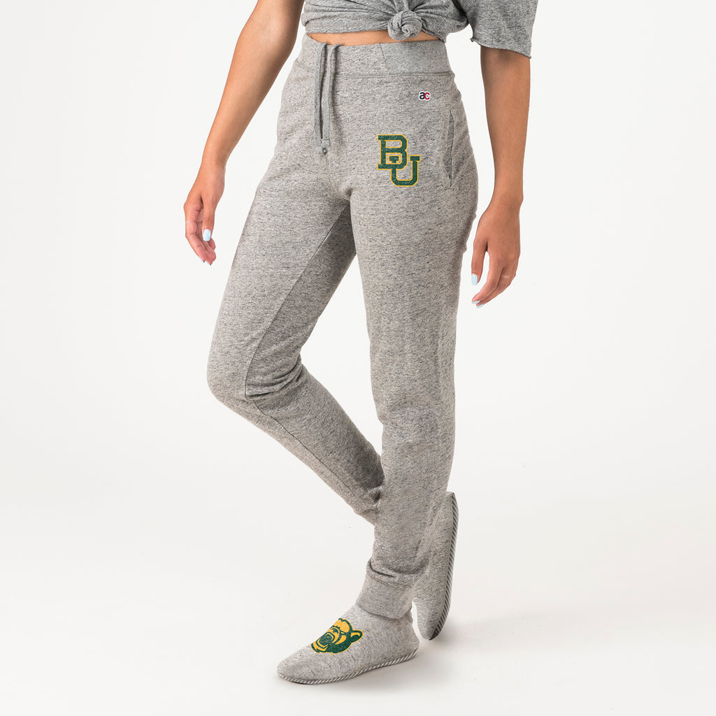ac Feejays® Baylor Unisex Sweatpants With Feet - American Collegiate